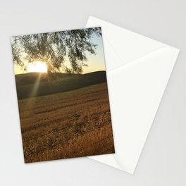 Golden Sunset in Paso Robles Stationery Cards