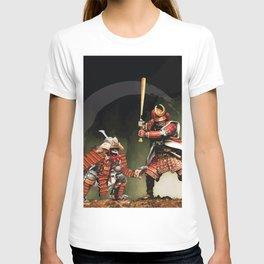 Samurai Warriors Baseball Furies T-shirt