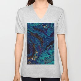 water / fall Unisex V-Neck
