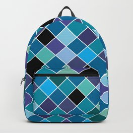 Mosaic on glass 11 Backpack