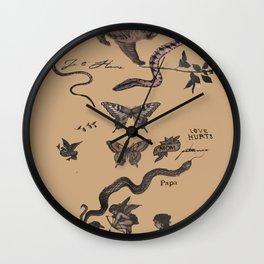 Tatu Wall Clock