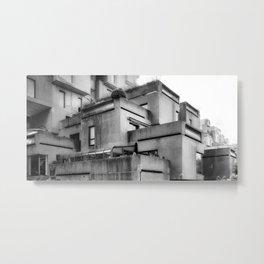 Habitat 67 03 - Mid Century Architecture Metal Print