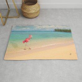 Flamingo Beach Rug