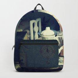 abandonded dollhouse Backpack
