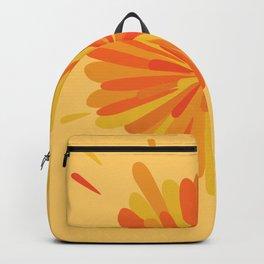 Orange Splatter Backpack