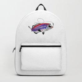 Lucky US Grouper Fishing Shirt Backpack