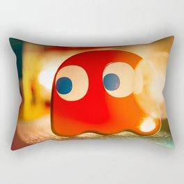 Retro Ghost Rectangular Pillow