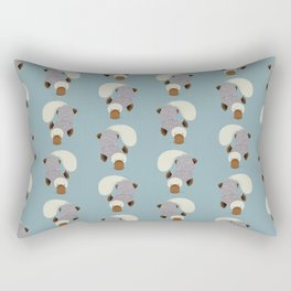 Whimsical Platypus Rectangular Pillow