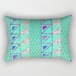 étnico Shima Rectangular Pillow