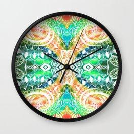 tropical trippy Wall Clock