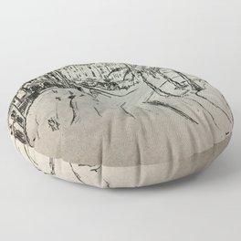 Tétouan city Floor Pillow