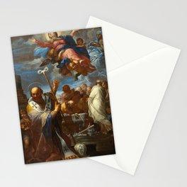 Giovanni Battista Lenardi The Assumption of the Virgin with Saints Anne and Nicholas of Myra Stationery Cards