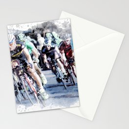 PELOTON for the TRUE cycling and sport lovers Stationery Cards