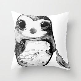 Skitch Monochrome. Throw Pillow