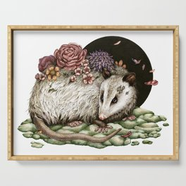 Blossom Possum Serving Tray