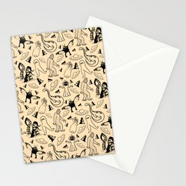 Cryptid Classics  Stationery Cards