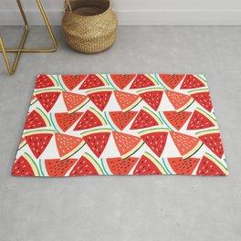 Sliced Watermelon Rug