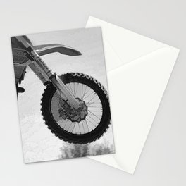 Motocross Dirt-Bike Racer Stationery Cards