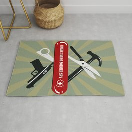 Tinker Tailor Soldier Spy - Alternative Movie Poster Rug