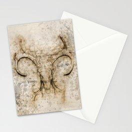 Skulled Oddity Stationery Cards