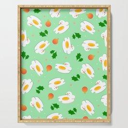 Eggmas Serving Tray