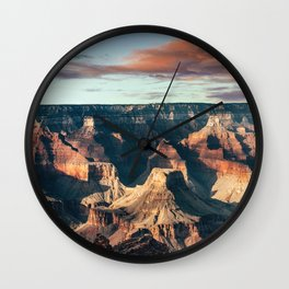 Grand Canyon national park in usa Wall Clock