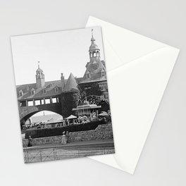 1890 Narragansett Towers & Casino, Narragansett, Rhode Island Stationery Cards