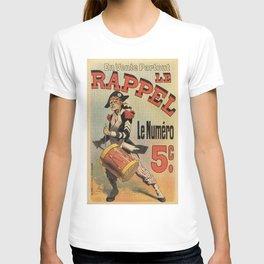 Vintage French revolutionary newspaper ad T-shirt