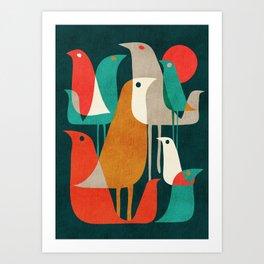 Flock of Birds Kunstdrucke