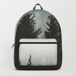 Wanderlust Forest II - Mountain Adventure in Foggy Woods Backpack