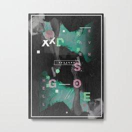S E X X G O D  I Metal Print