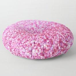 Pink Mermaid Glitter Glam #1 (Faux Glitter) #shiny #decor #art #society6 Floor Pillow