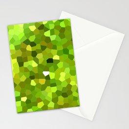 Lemon Cake Mosaic Pattern Stationery Cards