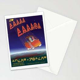 Terra Terror Movie Poster Stationery Cards