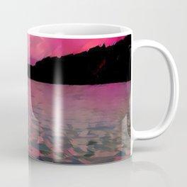 A Redder Lake and Sky Coffee Mug