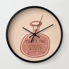 That's the Stuff Wall Clock