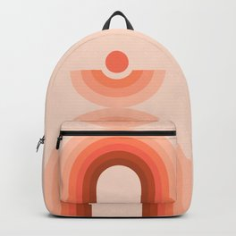 Abstraction_NEW_SUN_RAINBOW_Minimalism_002 Backpack