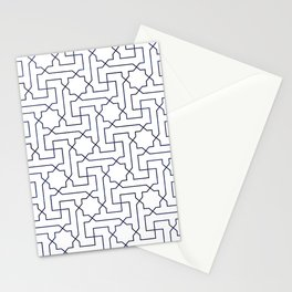 Moroccan Pattern Neck Gator Morrocan Design Stationery Cards