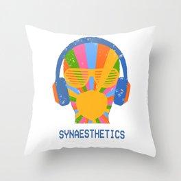 SYNAESTHETICS Throw Pillow