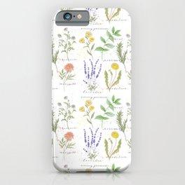 Medicinal Herbs iPhone Case