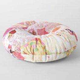 pink cakes  Floor Pillow