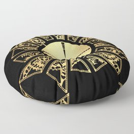 Lament Configuration Opened - Natural Floor Pillow