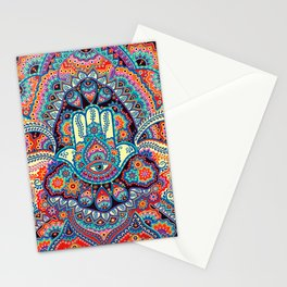 Hamsa Hand Stationery Cards