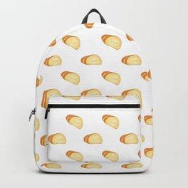 Tasty garlic bread slices Backpack