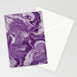 accidental iris royal Stationery Cards