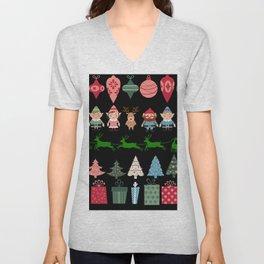 Christmas Elves & More Unisex V-Neck
