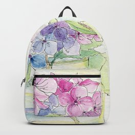 Hydrangea, Still Life Backpack