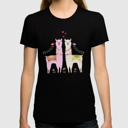 Llama Pattern T-Shirt