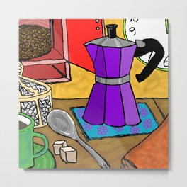 Coffee in Italy Metal Print