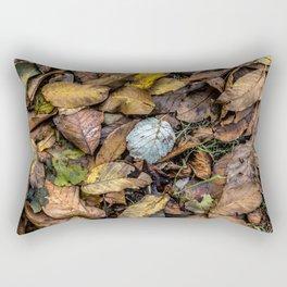 Summer is gone, Autumn is finally here Rectangular Pillow
